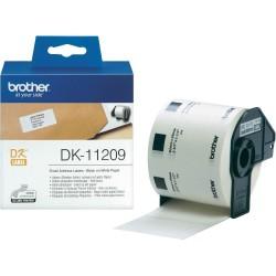Ролка с етикети Brother DK-11209